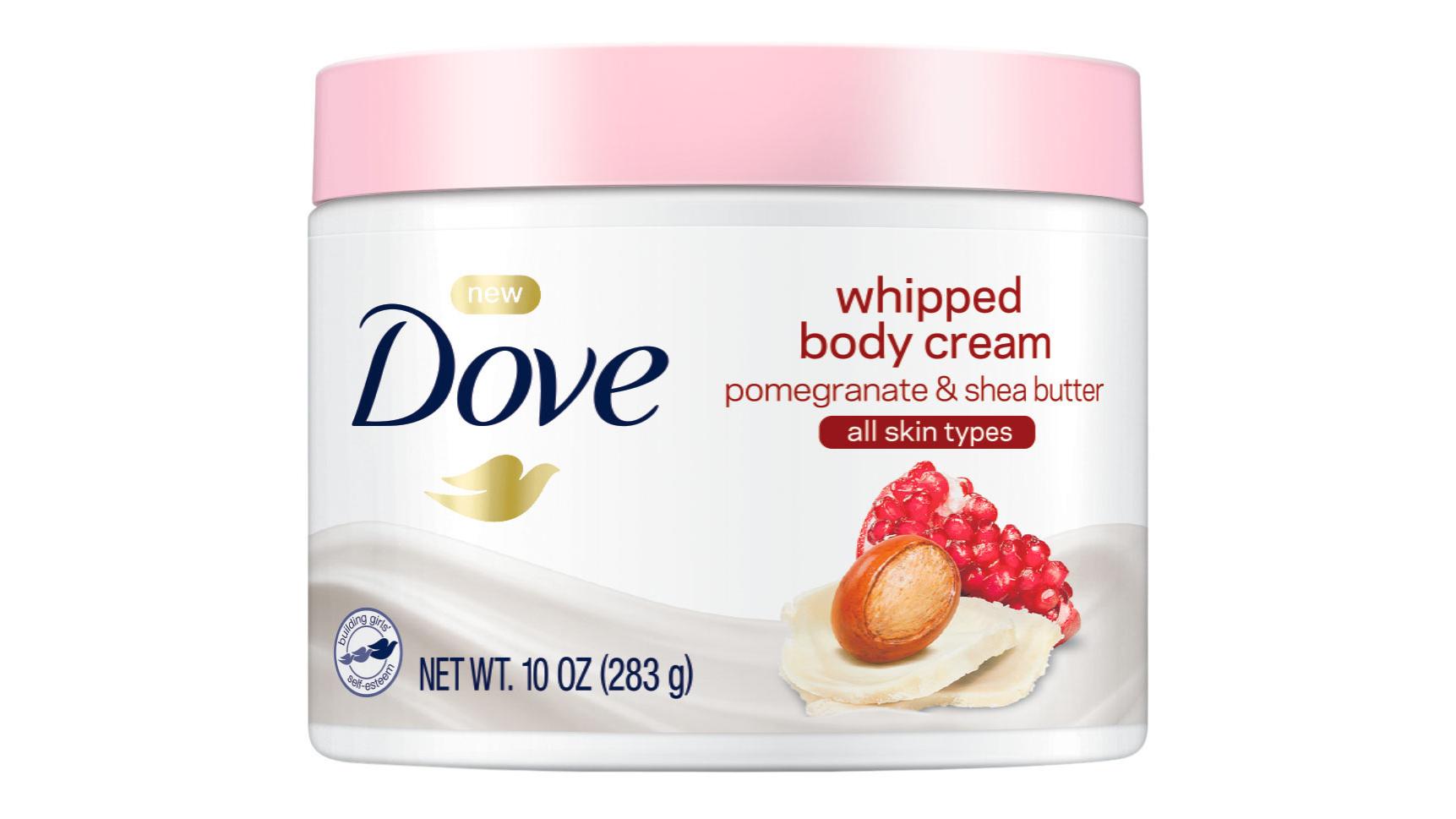 dove whipped body cream all skin