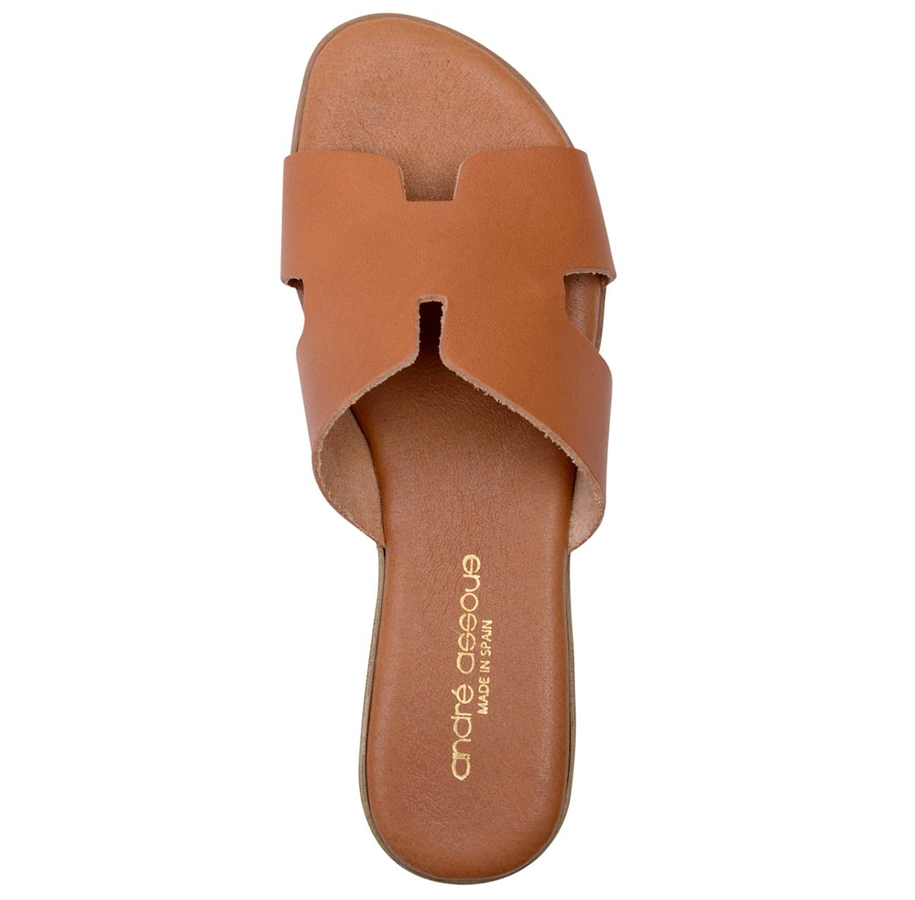 brown andre assous nadenka sandals