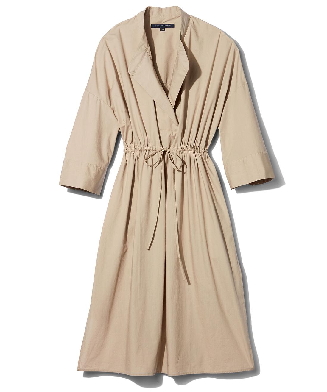 french connection poplin shirt dress