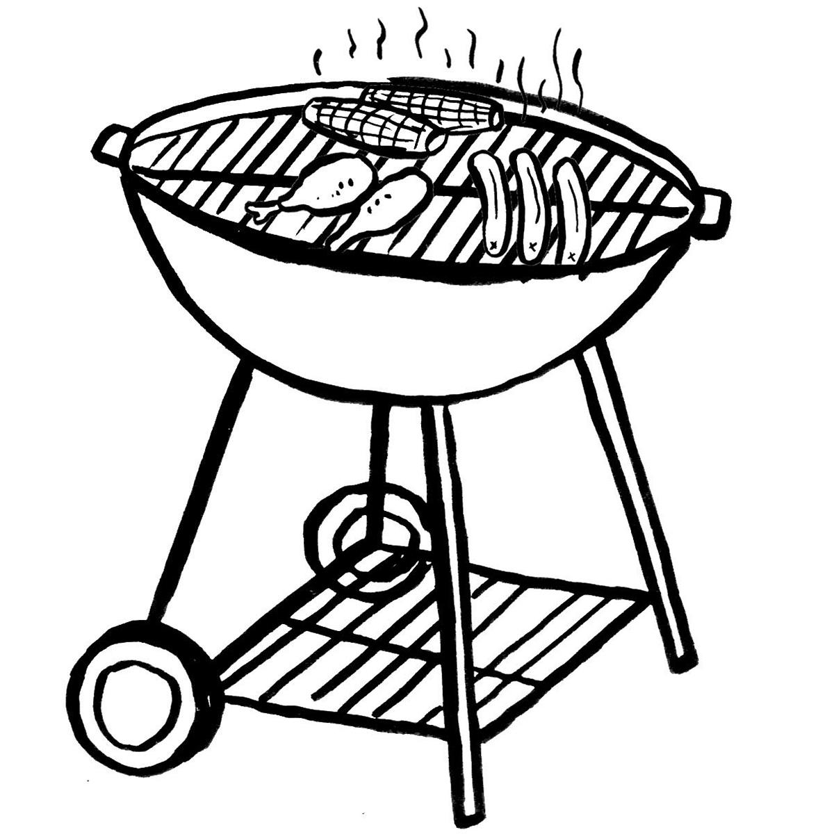 grill illustration