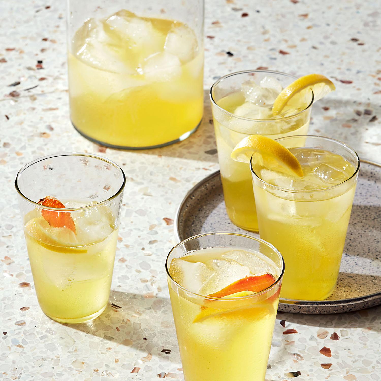 Vodka Lemon-Turmeric Cooler