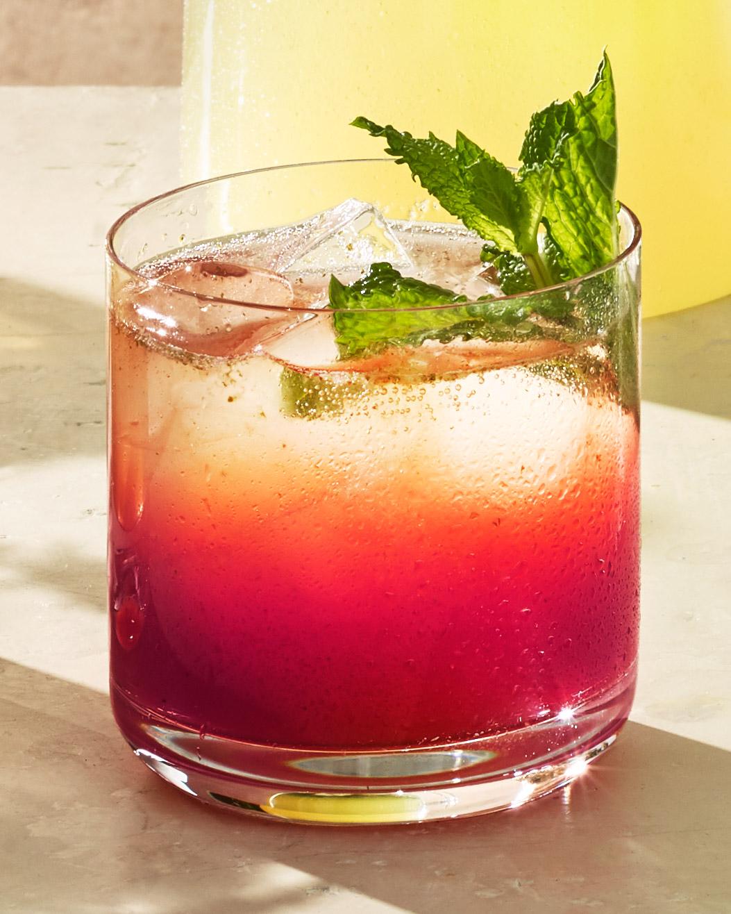 blackberry tequila cooler