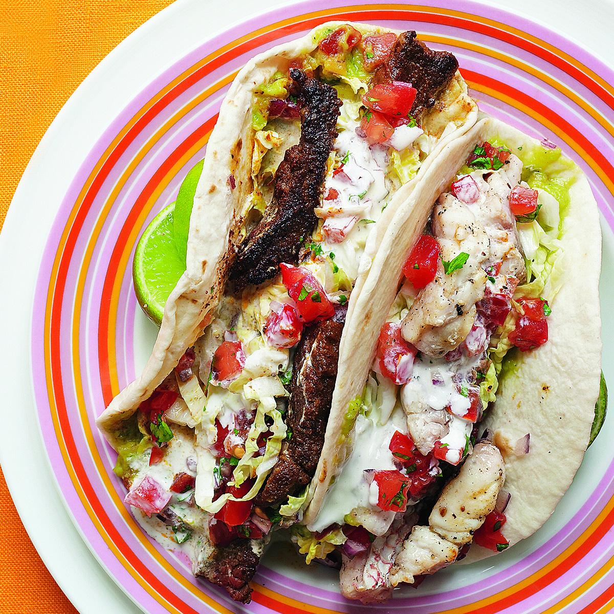 surf n turf tacos