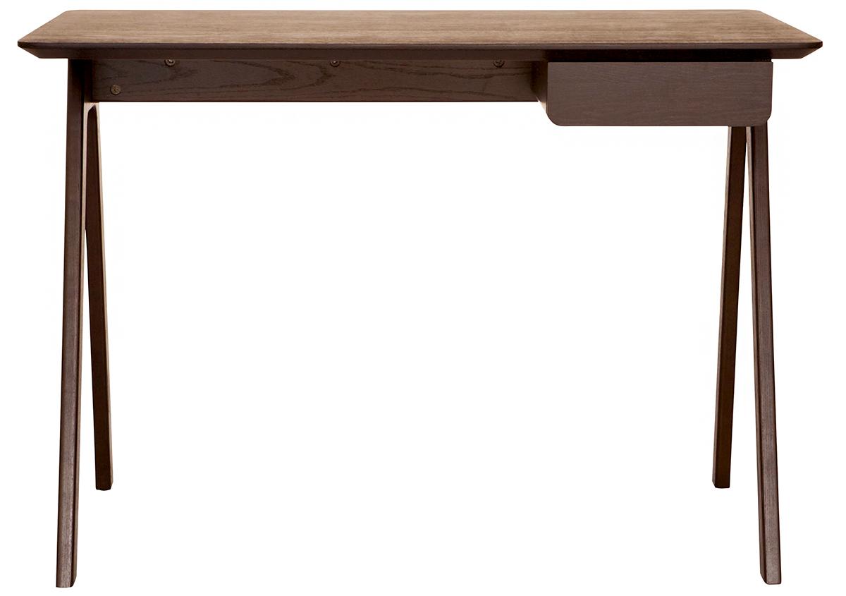 blu dot minimalist wood stash desk