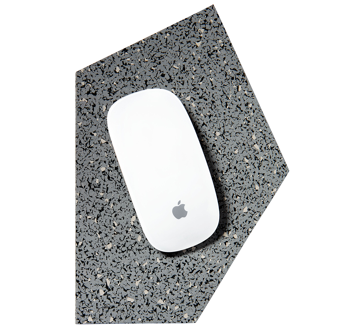 slash objects recycled gem rubber mousepad