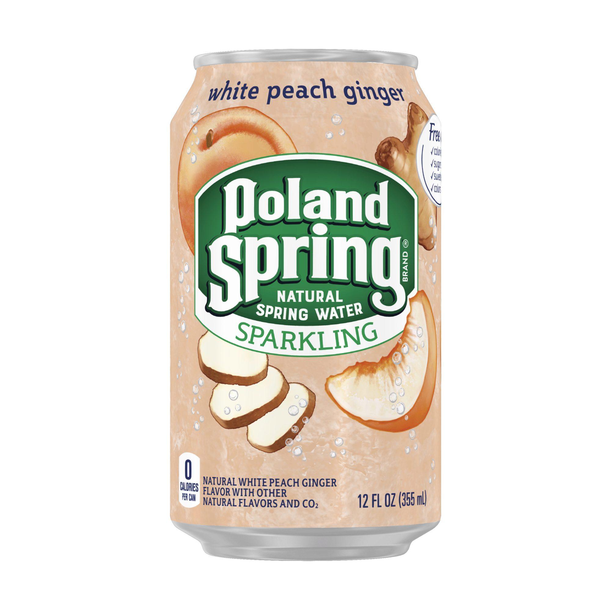 Poland Spring White Peach Ginger