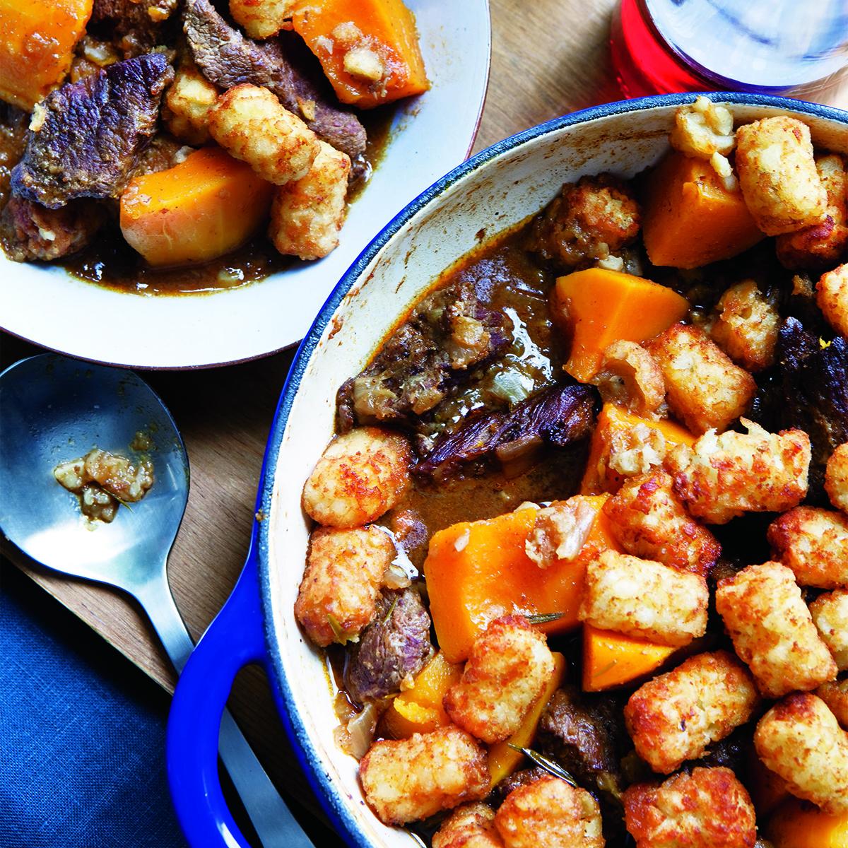 Potato-Topped Beef Stew