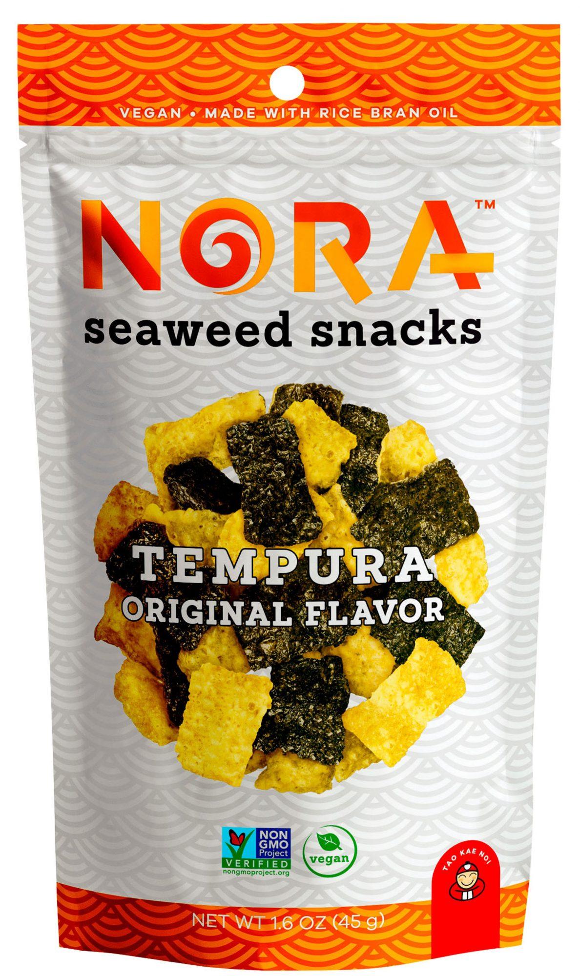 nora snacks original tempura