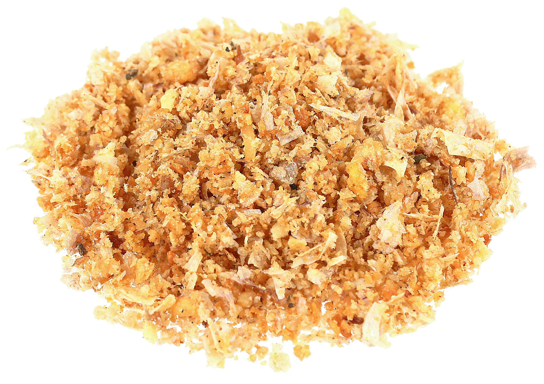 pile of crunchy topping