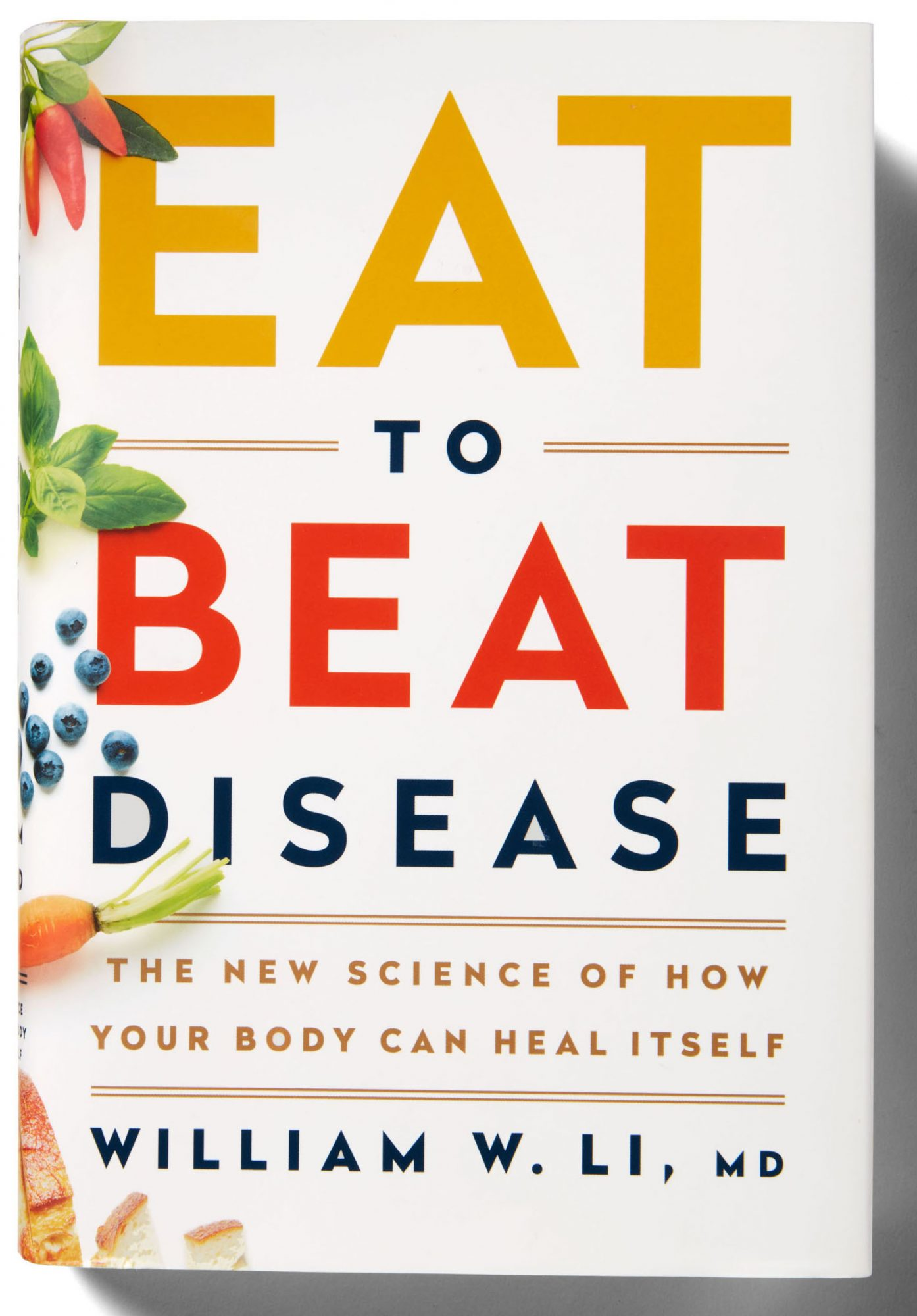 eat to beat disease book cover