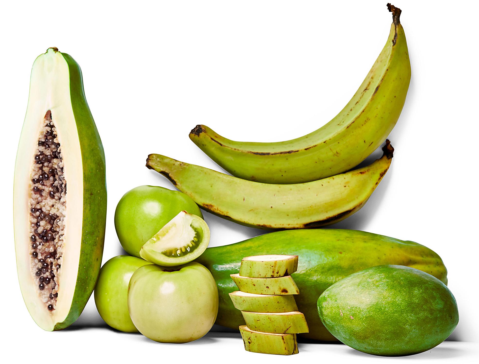 green-halved-papaya-tomatoes-plantains-mangoes-cff3286b
