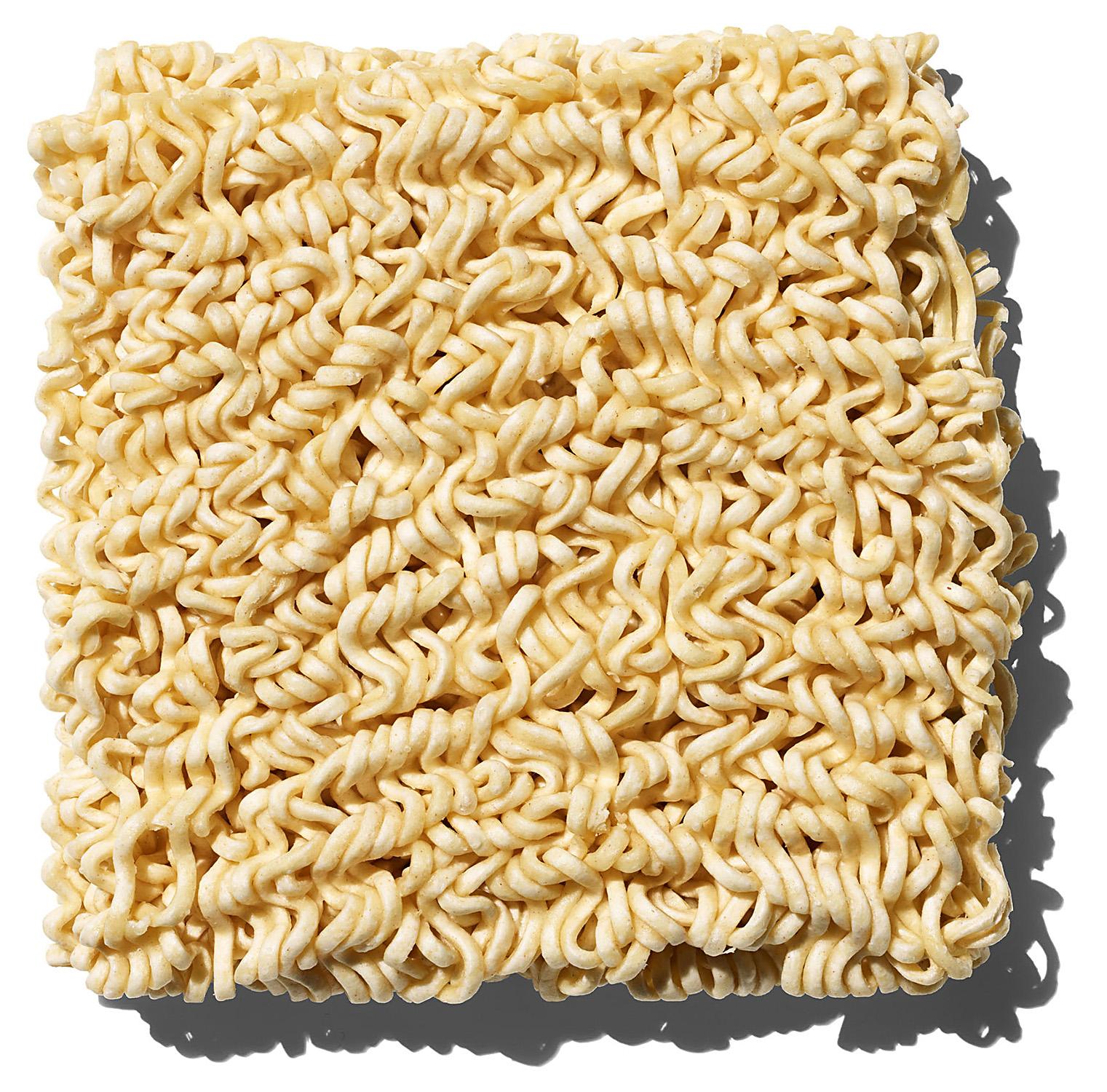 block of Ramen noodles