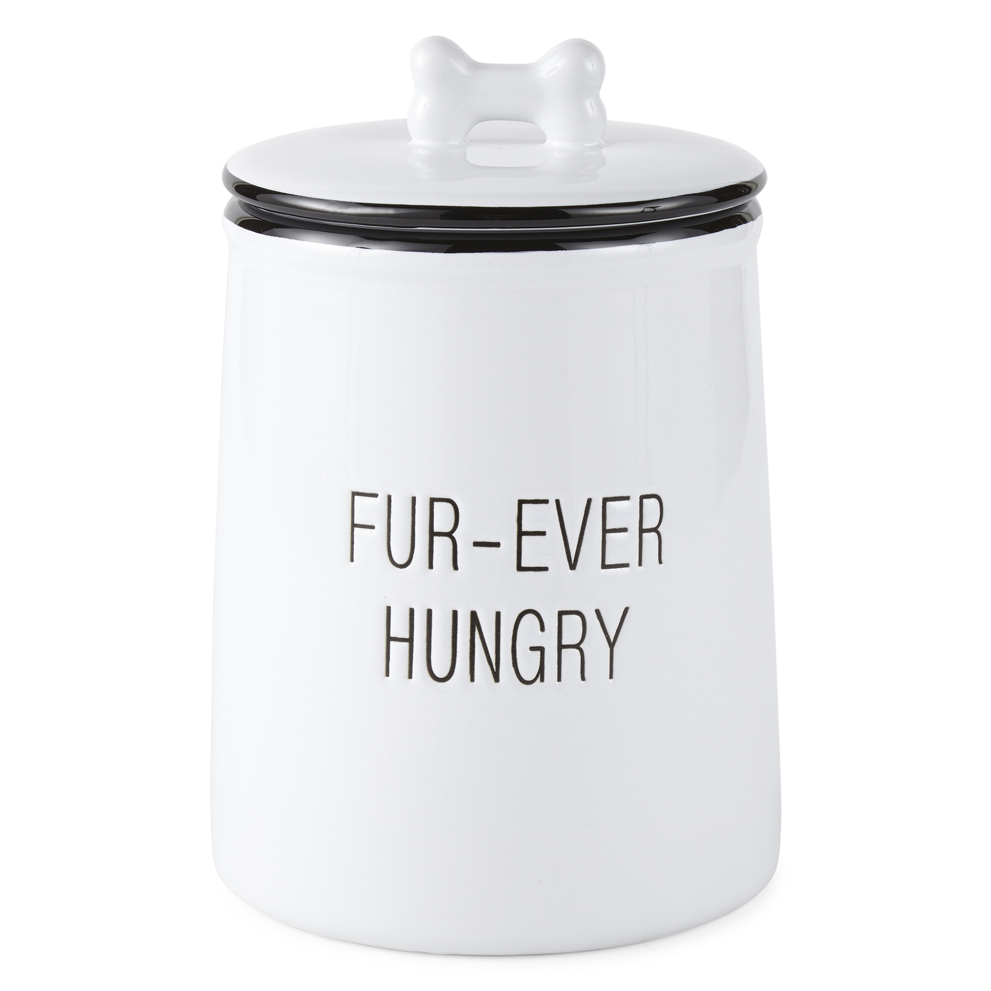 PAW & TAIL FUR-EVER HUNGRY Treat Jar