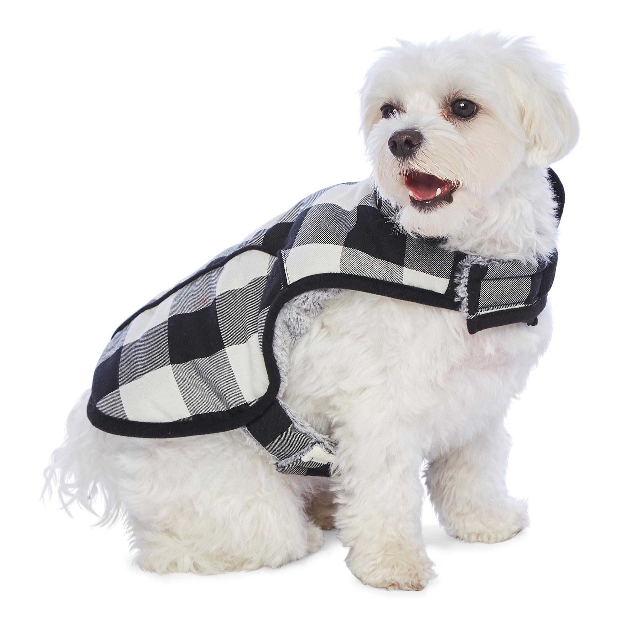 PAW & TAIL Gingham Dog Coat