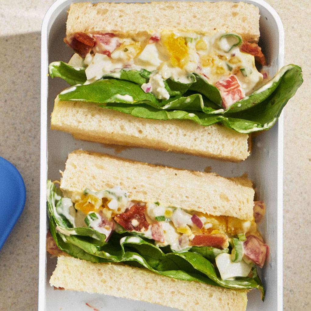 crustless cobb salad sandwiches