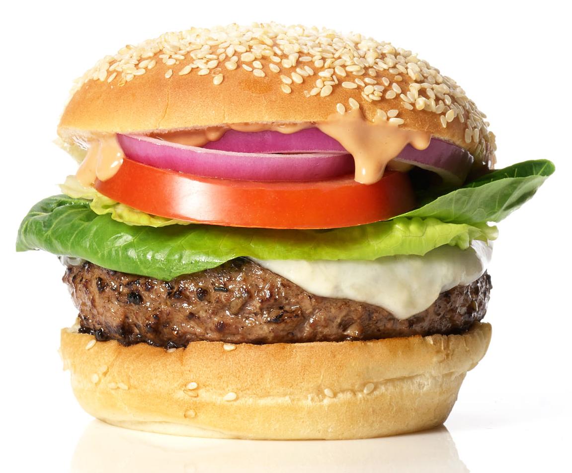green garlic burgers