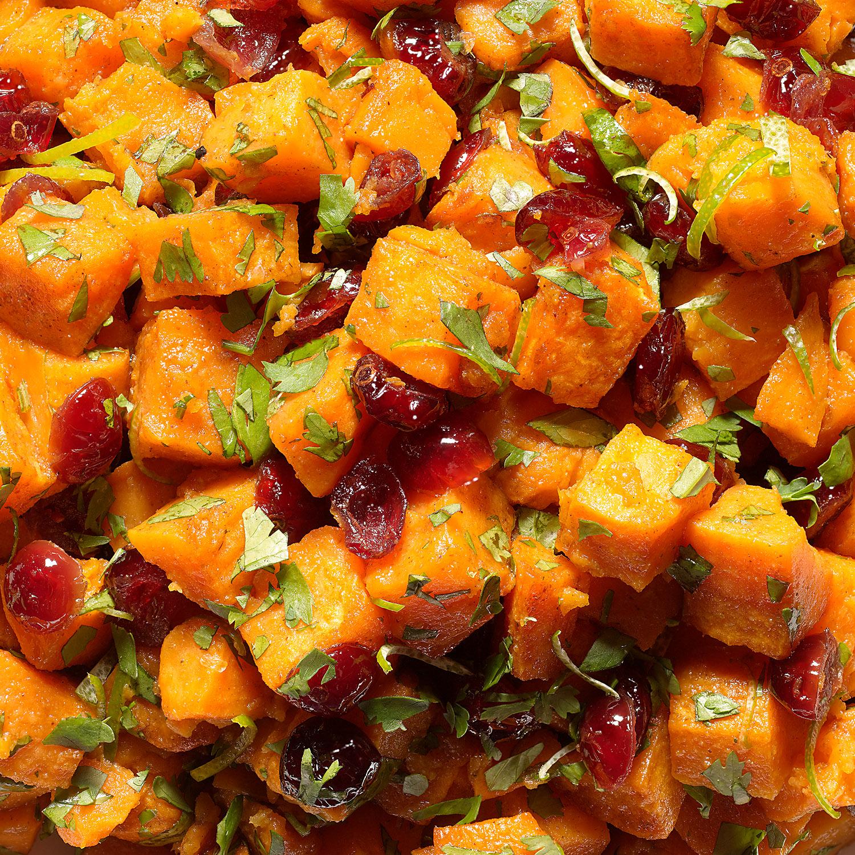 Sweet Potatoes with Cilantro