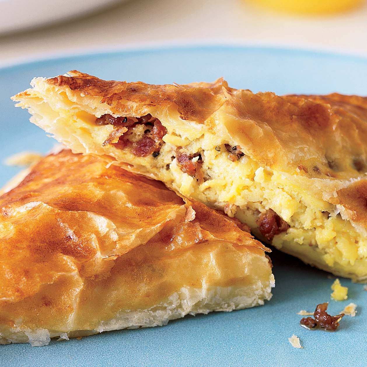 Sausage, Egg and Cheese Turnovers