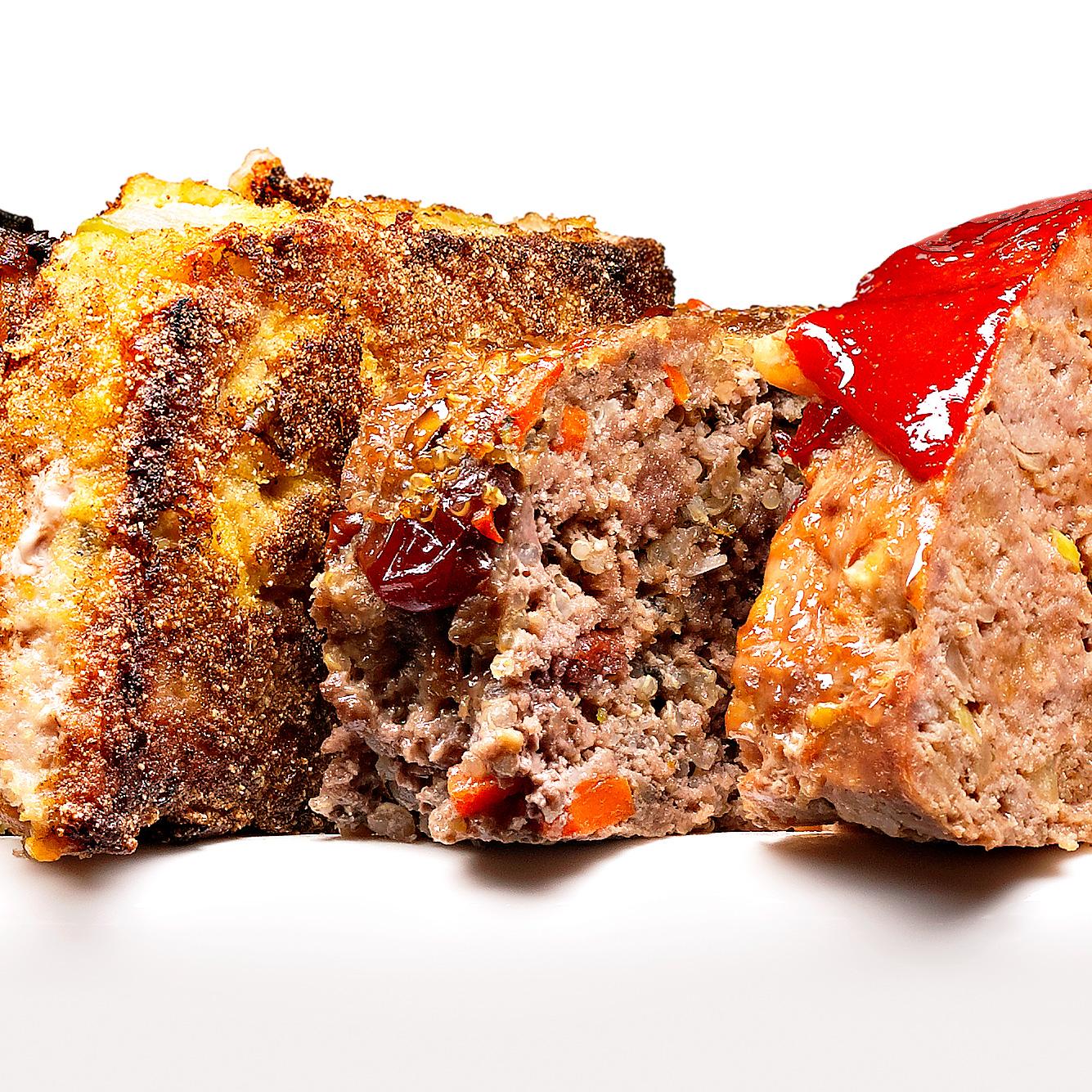 Healthy Bison & Quinoa Meatloaf