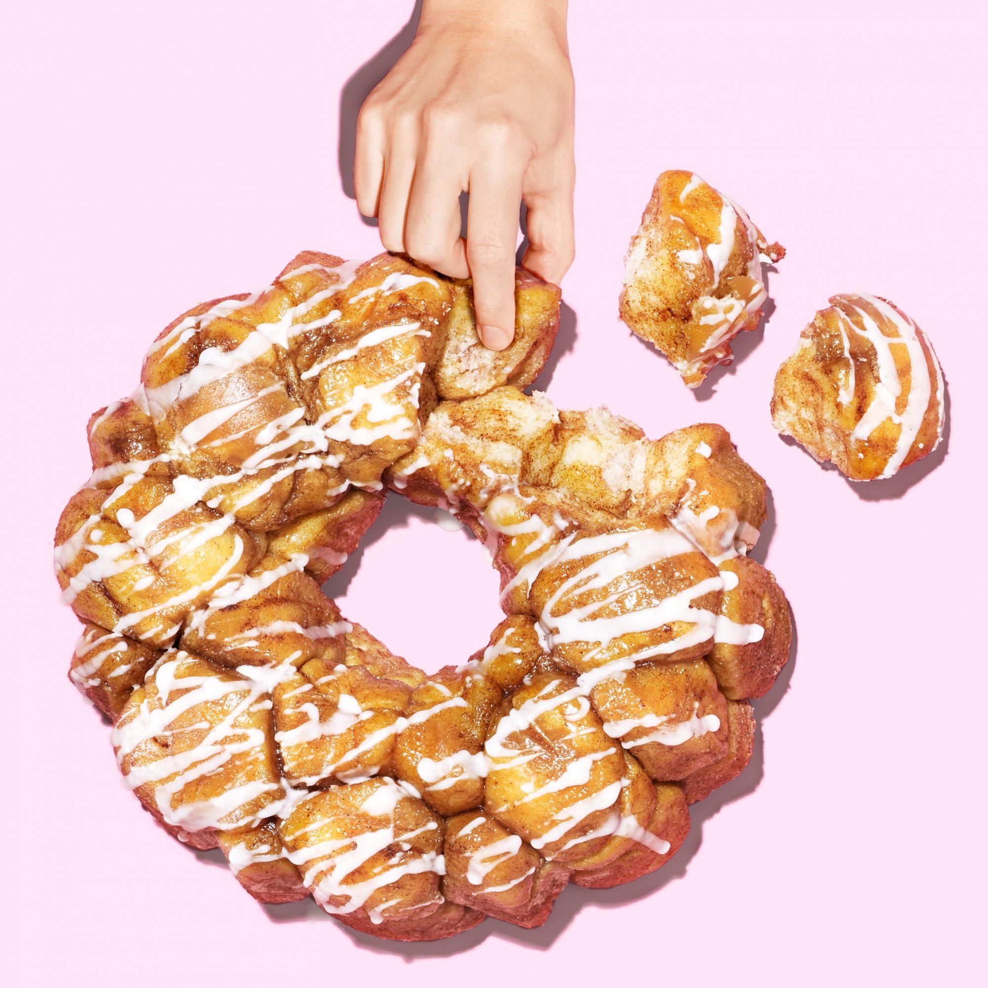 Cinnamon-Bun Fun Monkey Bread