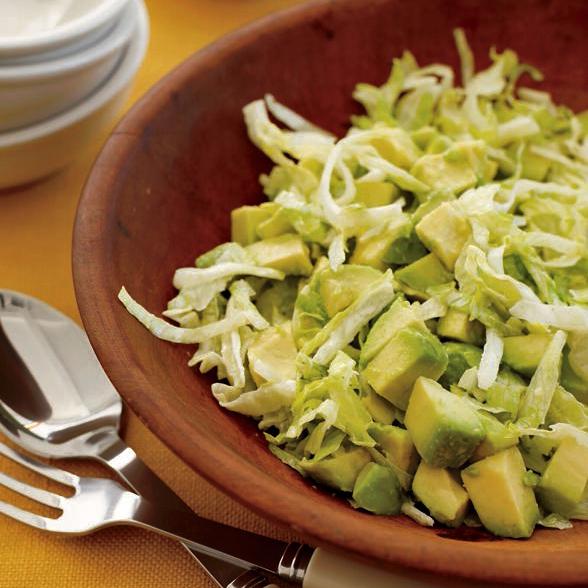 avocado salad with cumin lime dressing