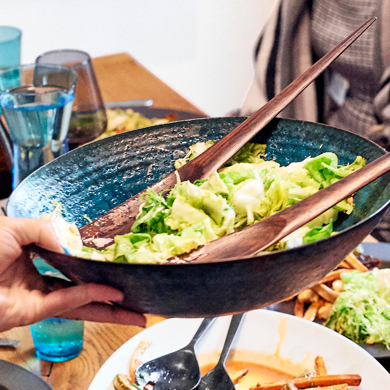 frisee and escarole saladd