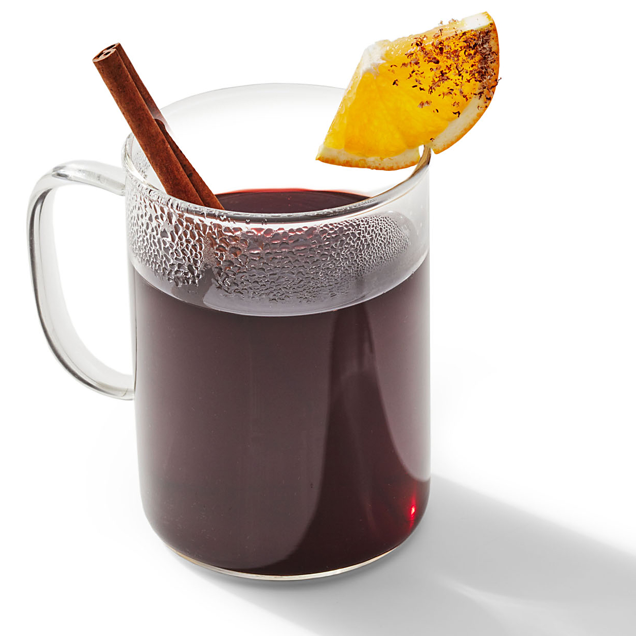 John's cocktail Spiced Mulled Wine with Oranges