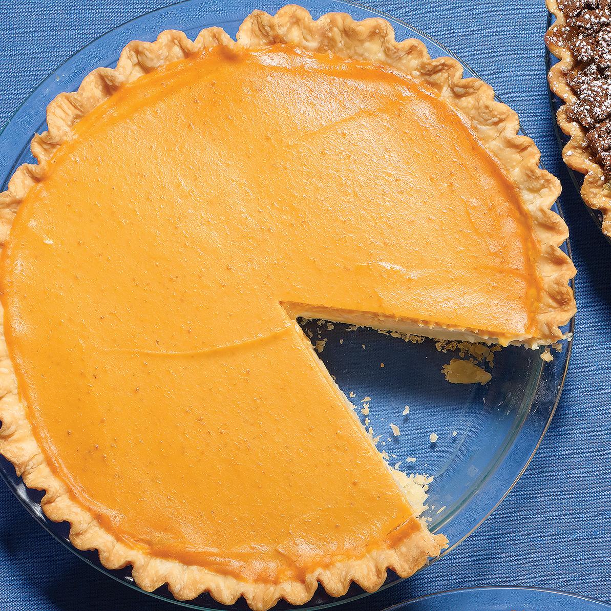 Maple-Pumpkin Cream Pie