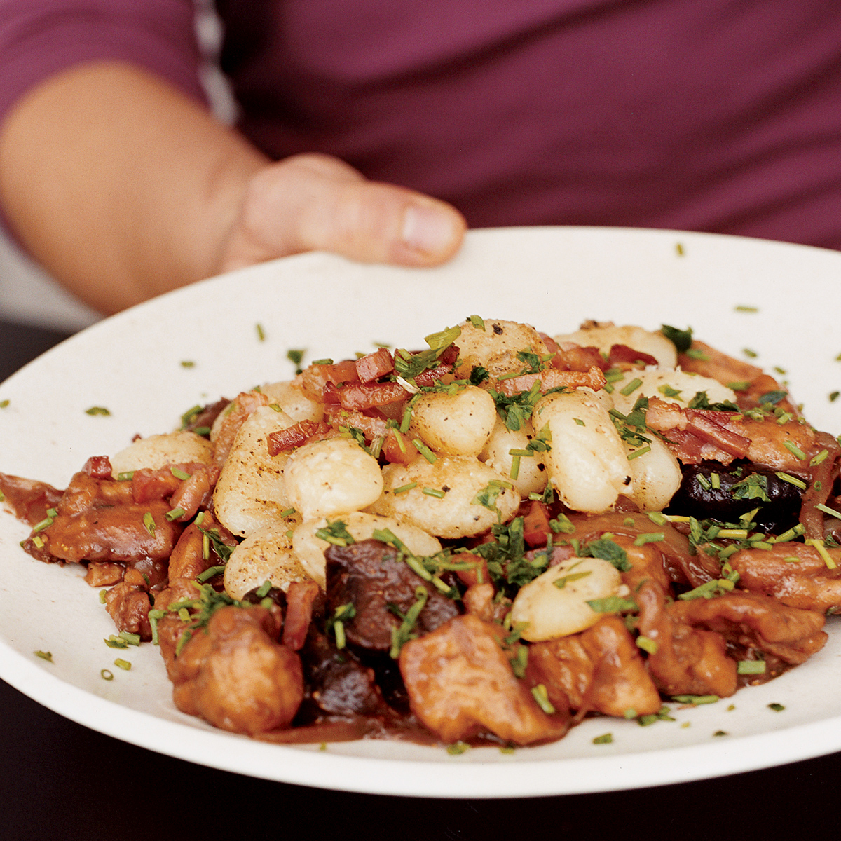 Montalcino Chicken with Figs and Buttered Gnocchi