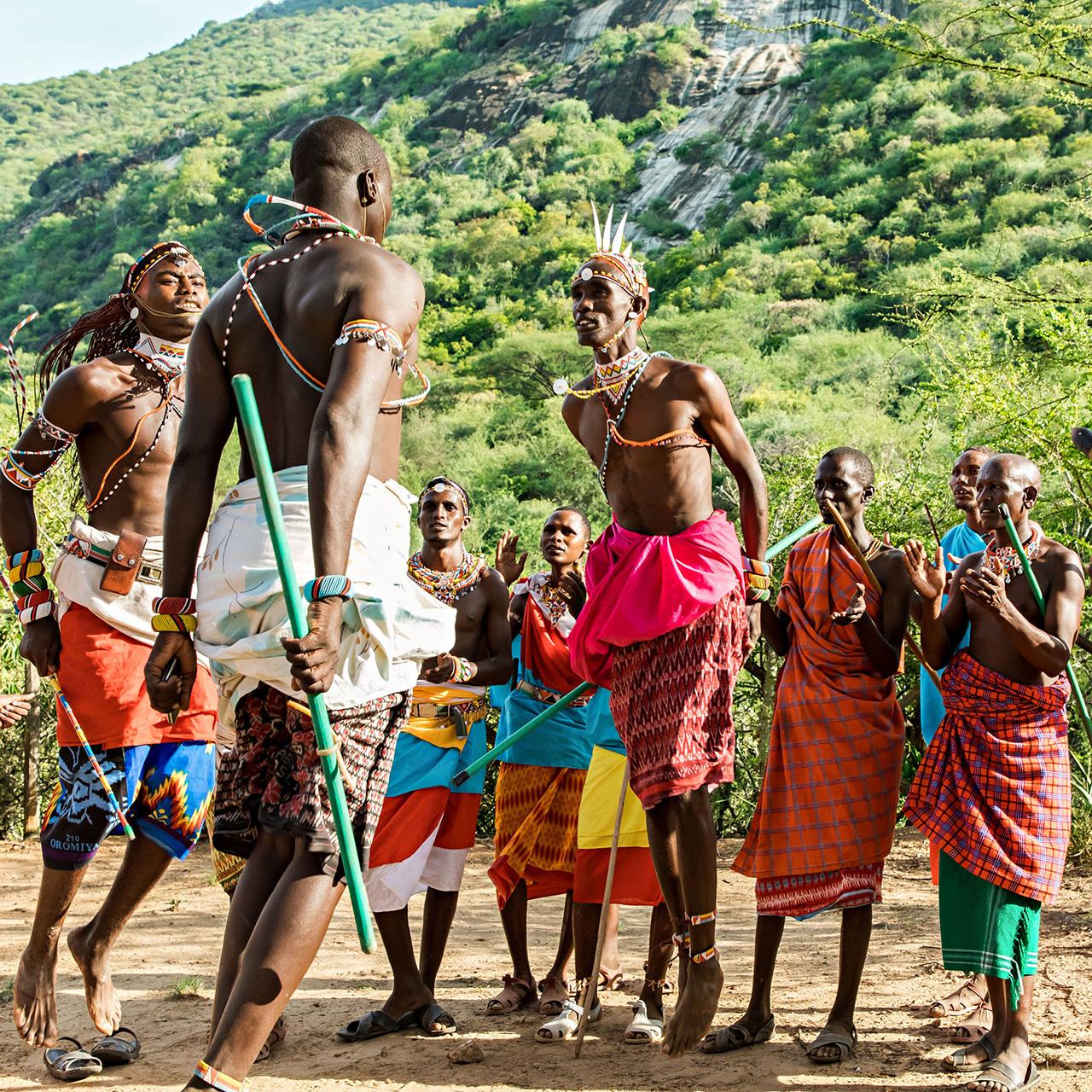 samburu warrior camp in Kenya
