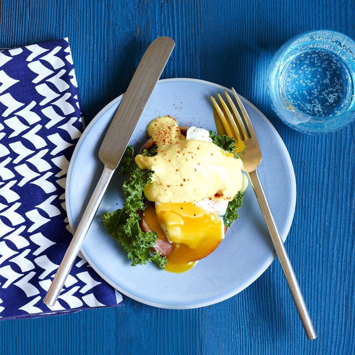 Lean & Luxurious Eggs Benedict