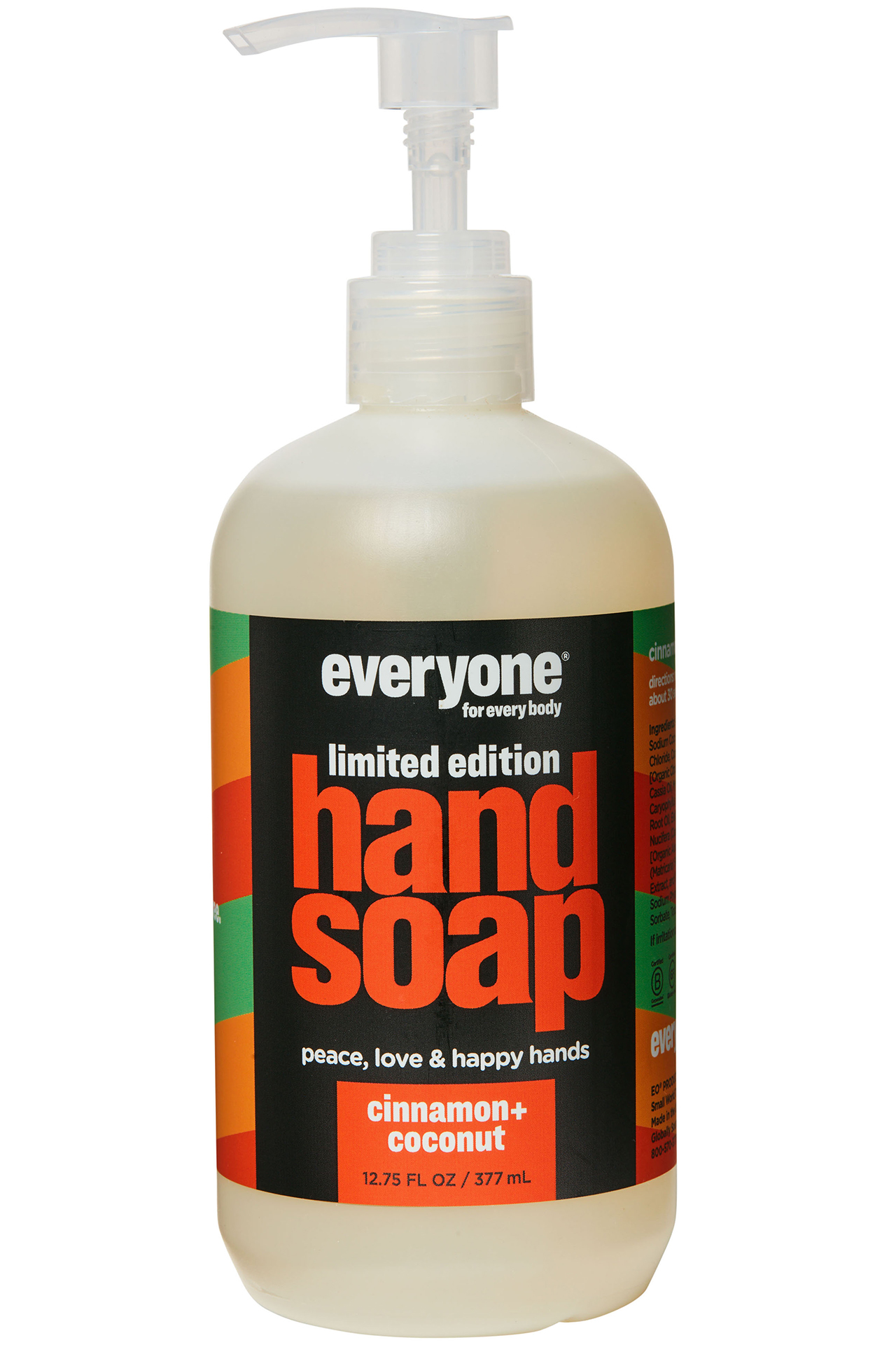 everyone for everybody hand soap cinnamon and coconut