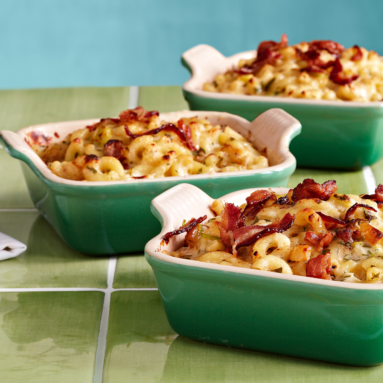 Apple-Bacon-Cheddar Mac'n'Cheese