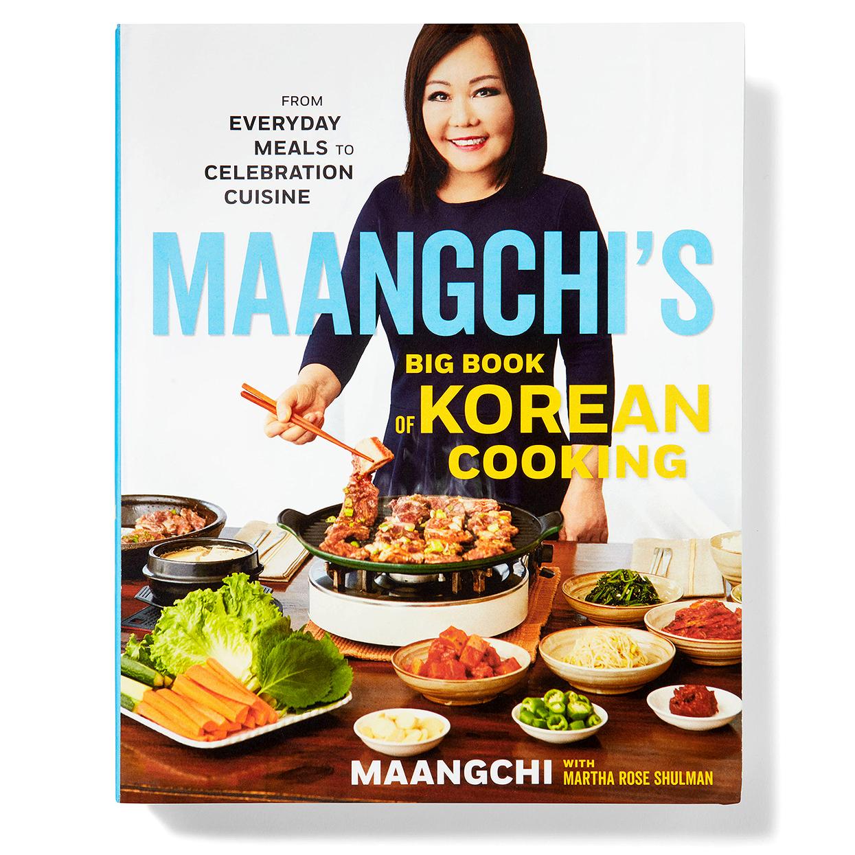 Maangchi's Big Book of Korean Cooking cover