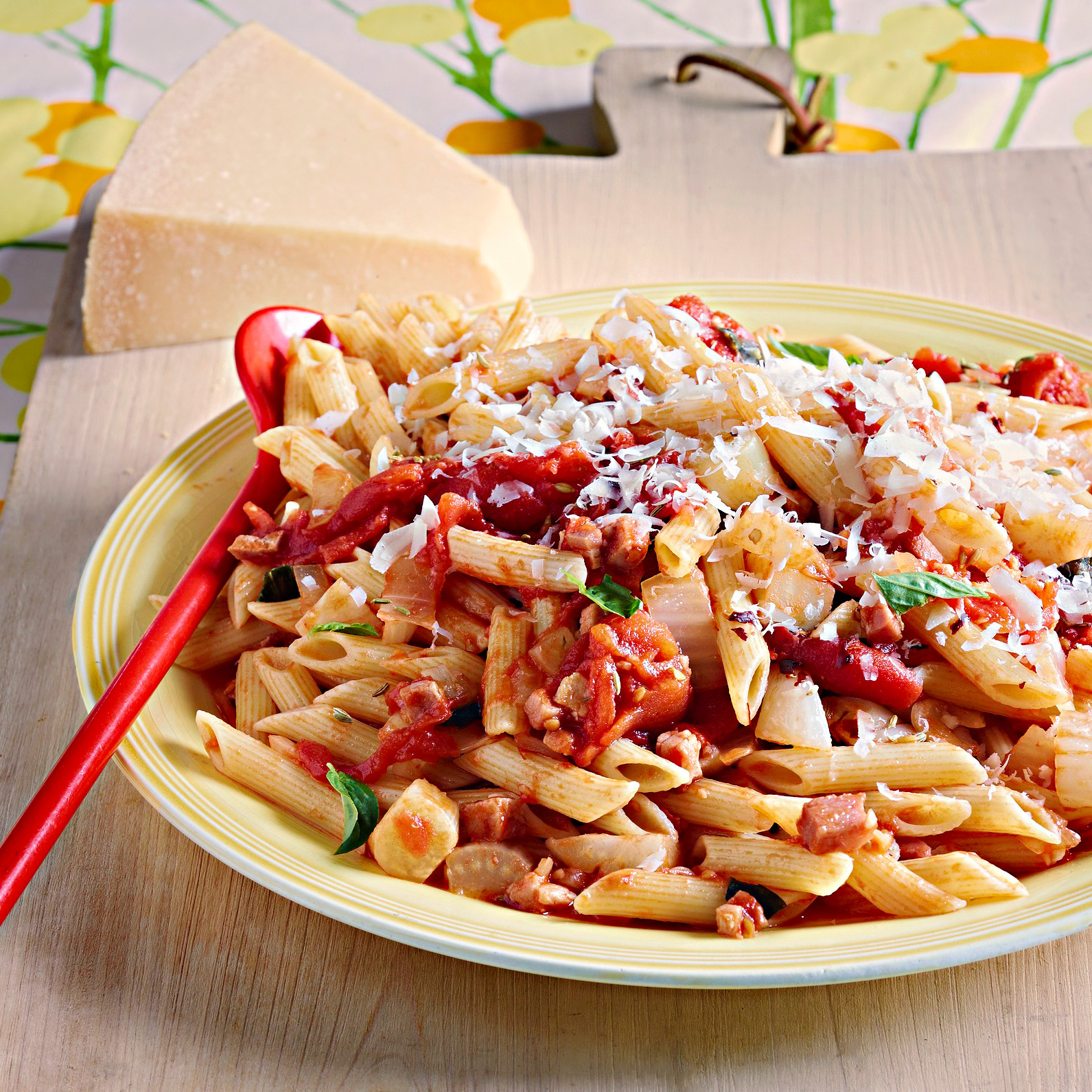 Penne with Bacon & Fennel Sauce