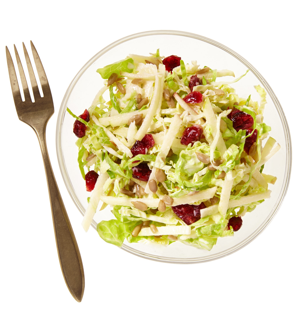 Apple-Brussels Sprouts Slaw