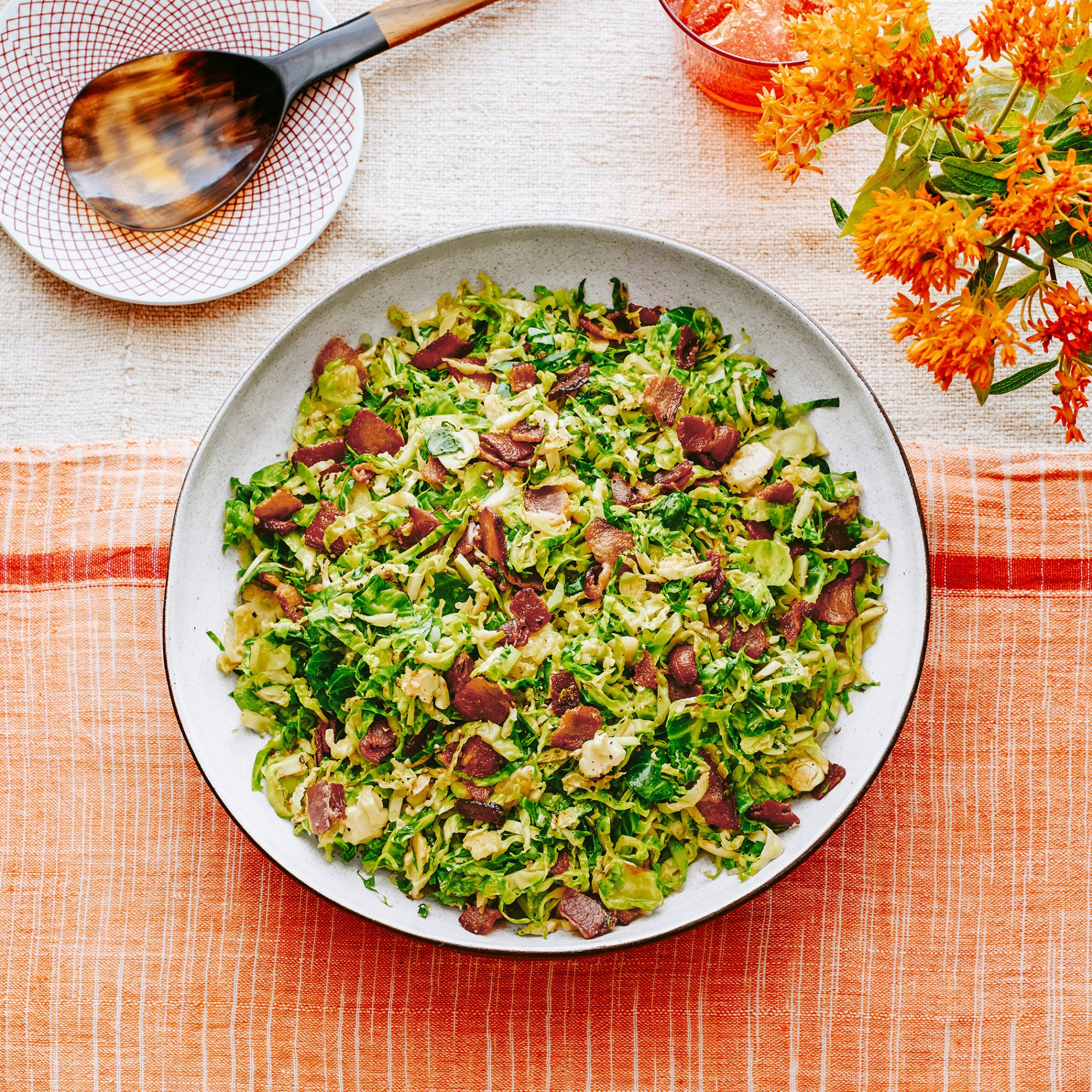 jacque pepin's fricassee brussels sprouts