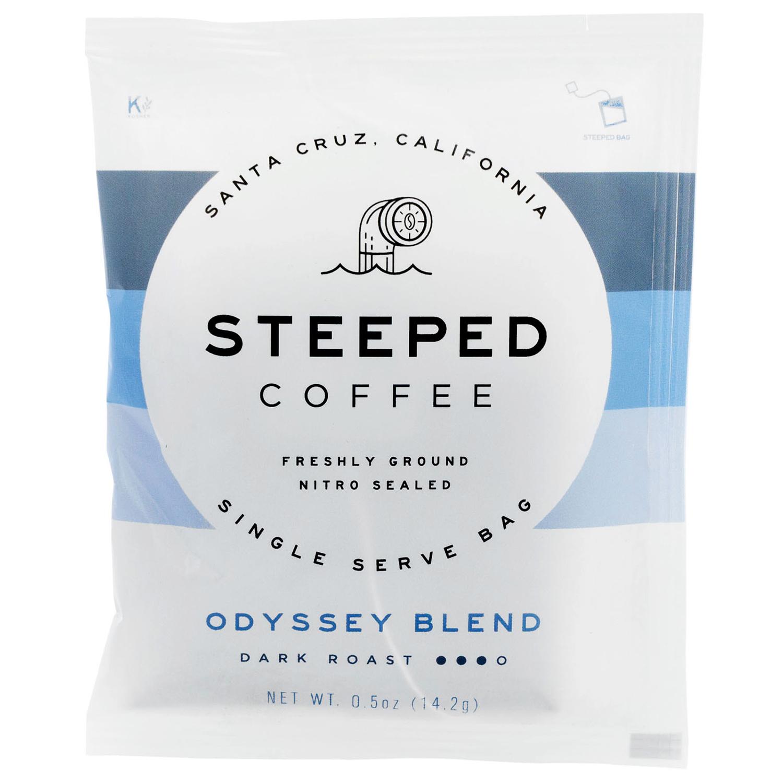 steeped coffee dark roast