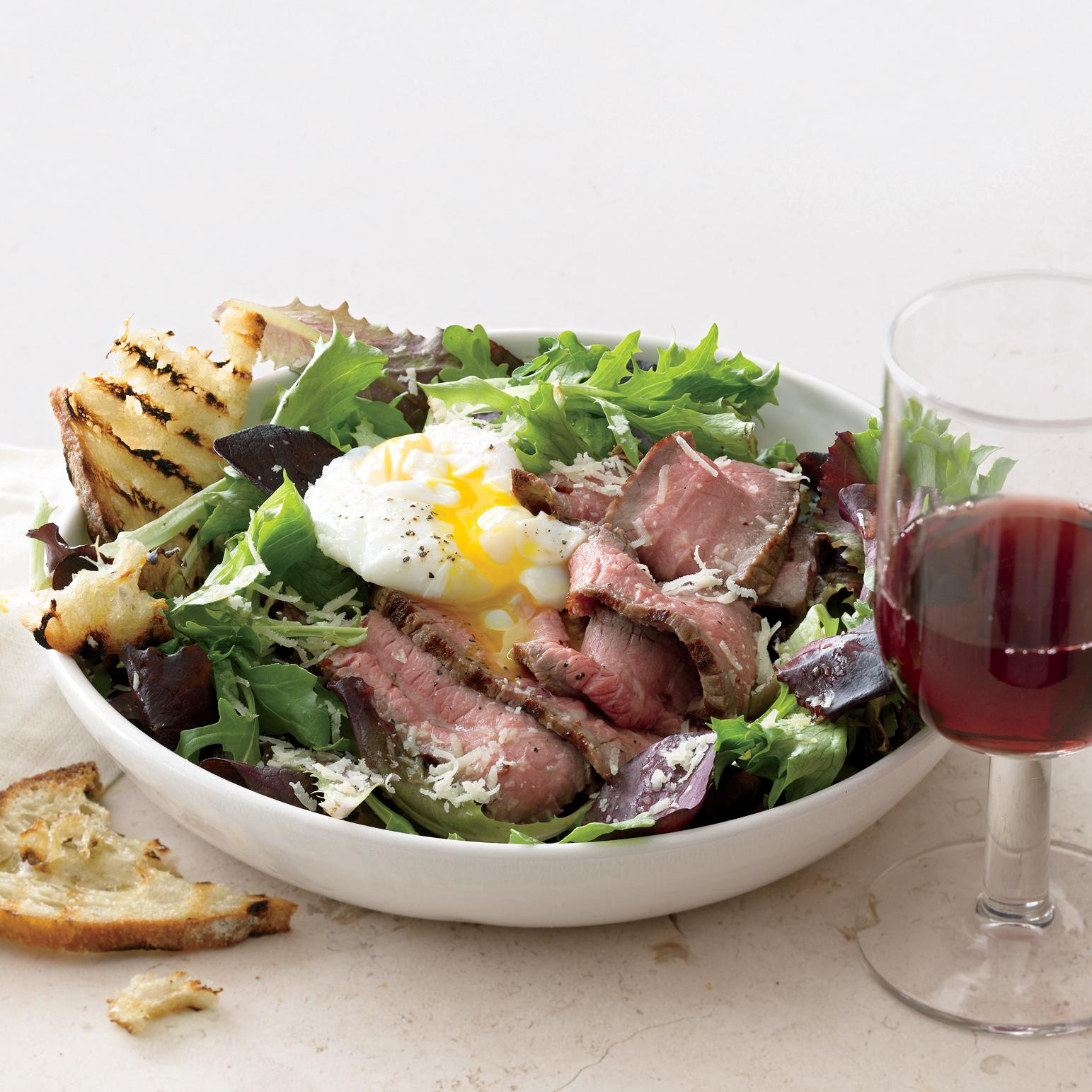 Bistro Steak-and-Egg Salad
