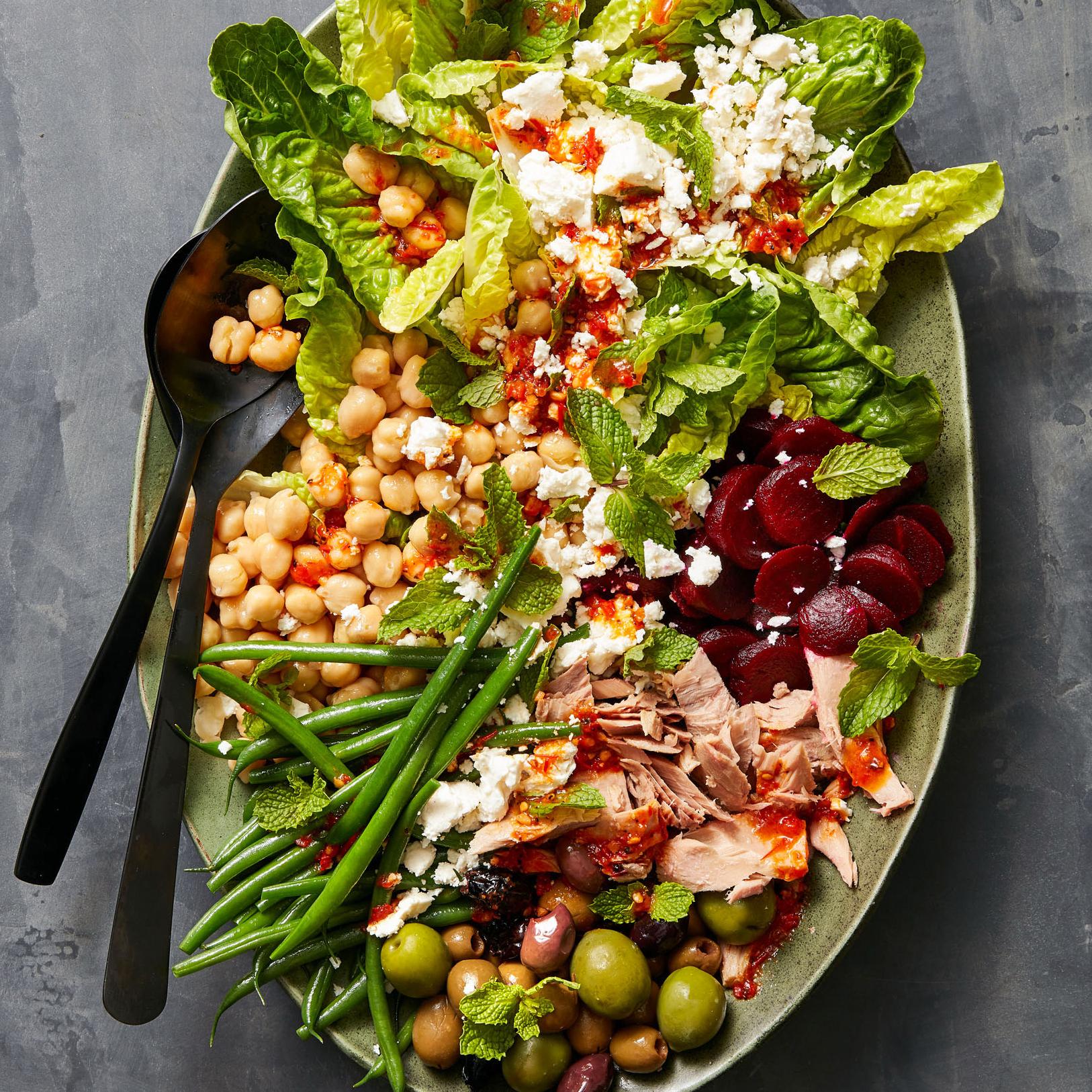 Mediterranean Nicoise Salad