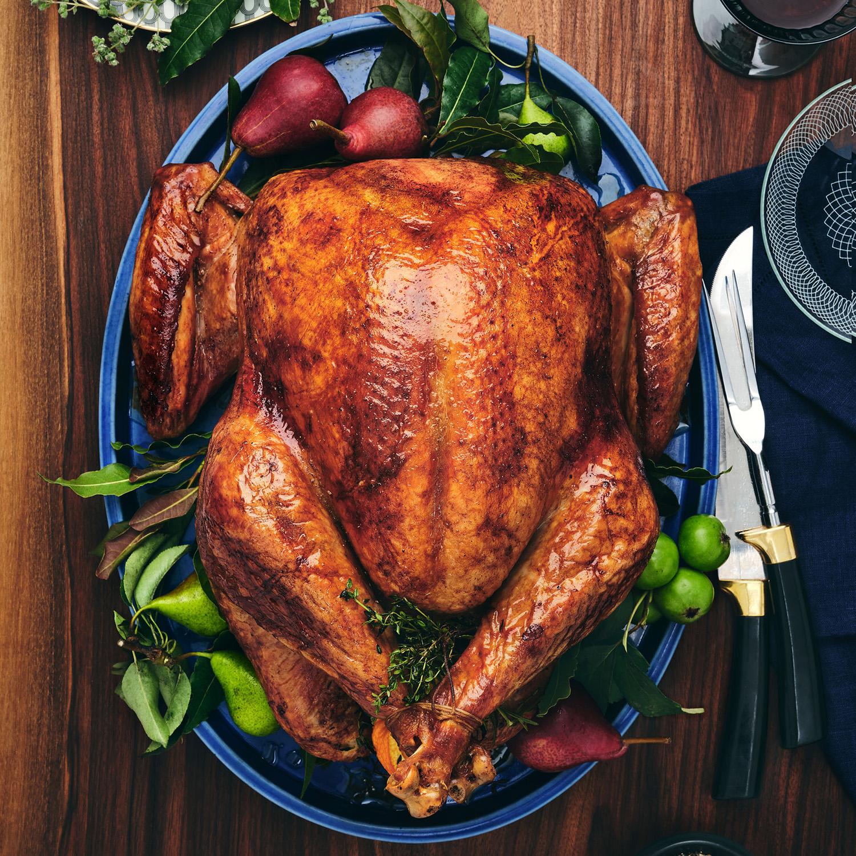 4 day dry brined turkey