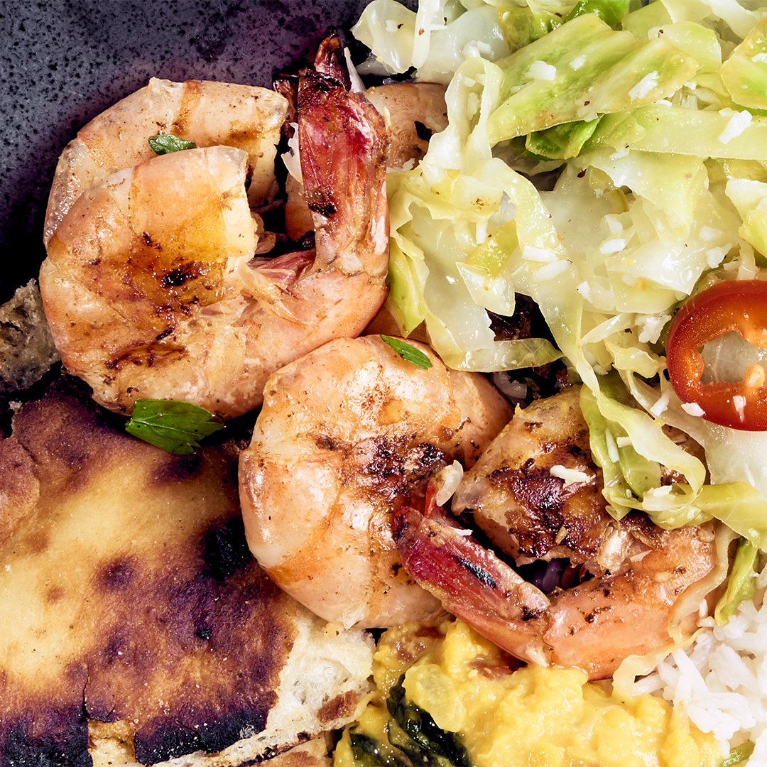 ginger lime shrimp