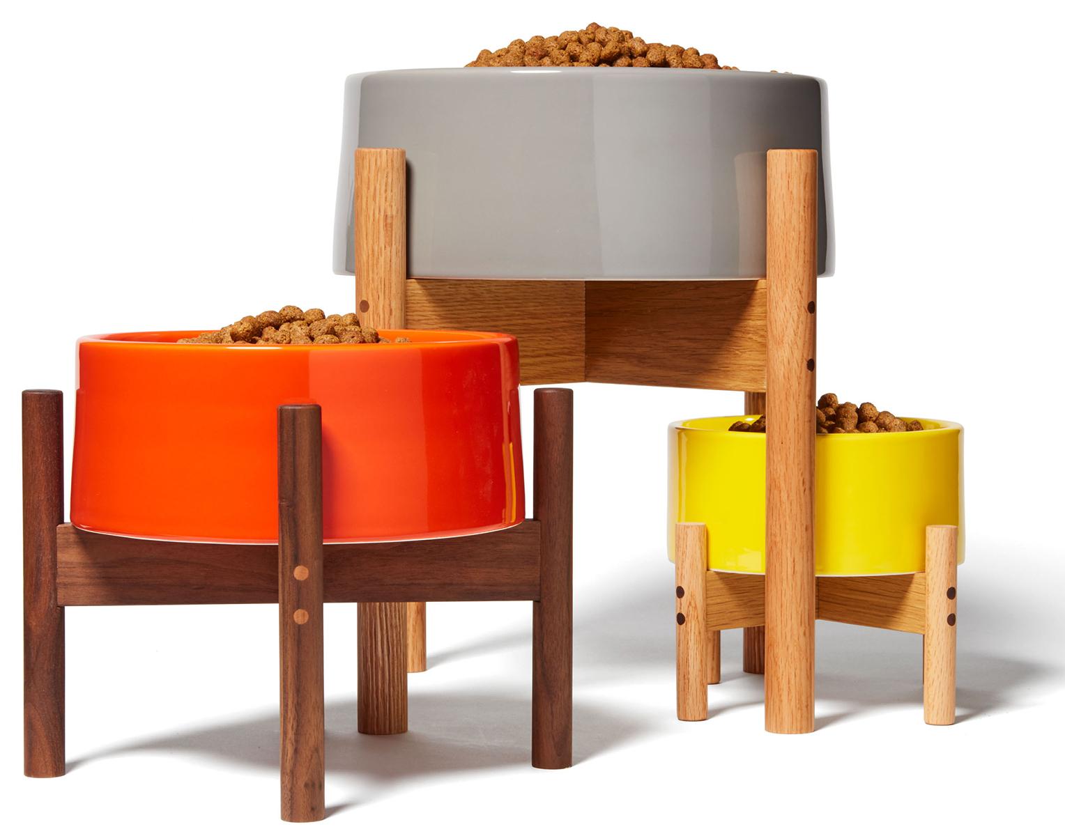 Mr. Dog All-Purpose Dog Bowl & Stand