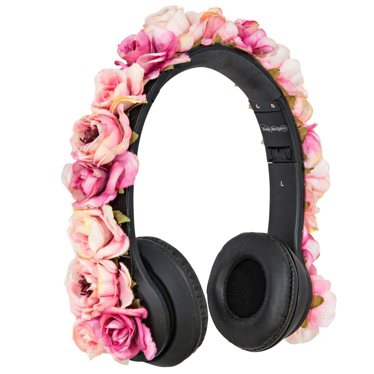 Rose Rockers Headphones