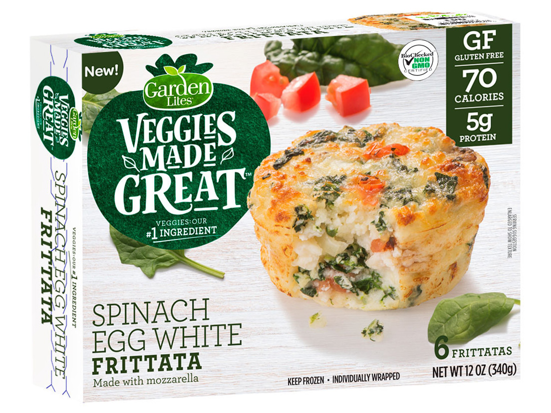 great spinach egg white frittatas