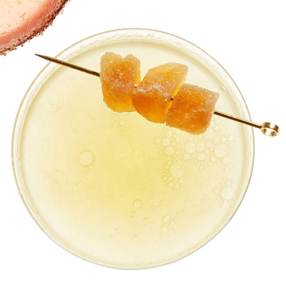 Ginger 75 Champagne Cocktail