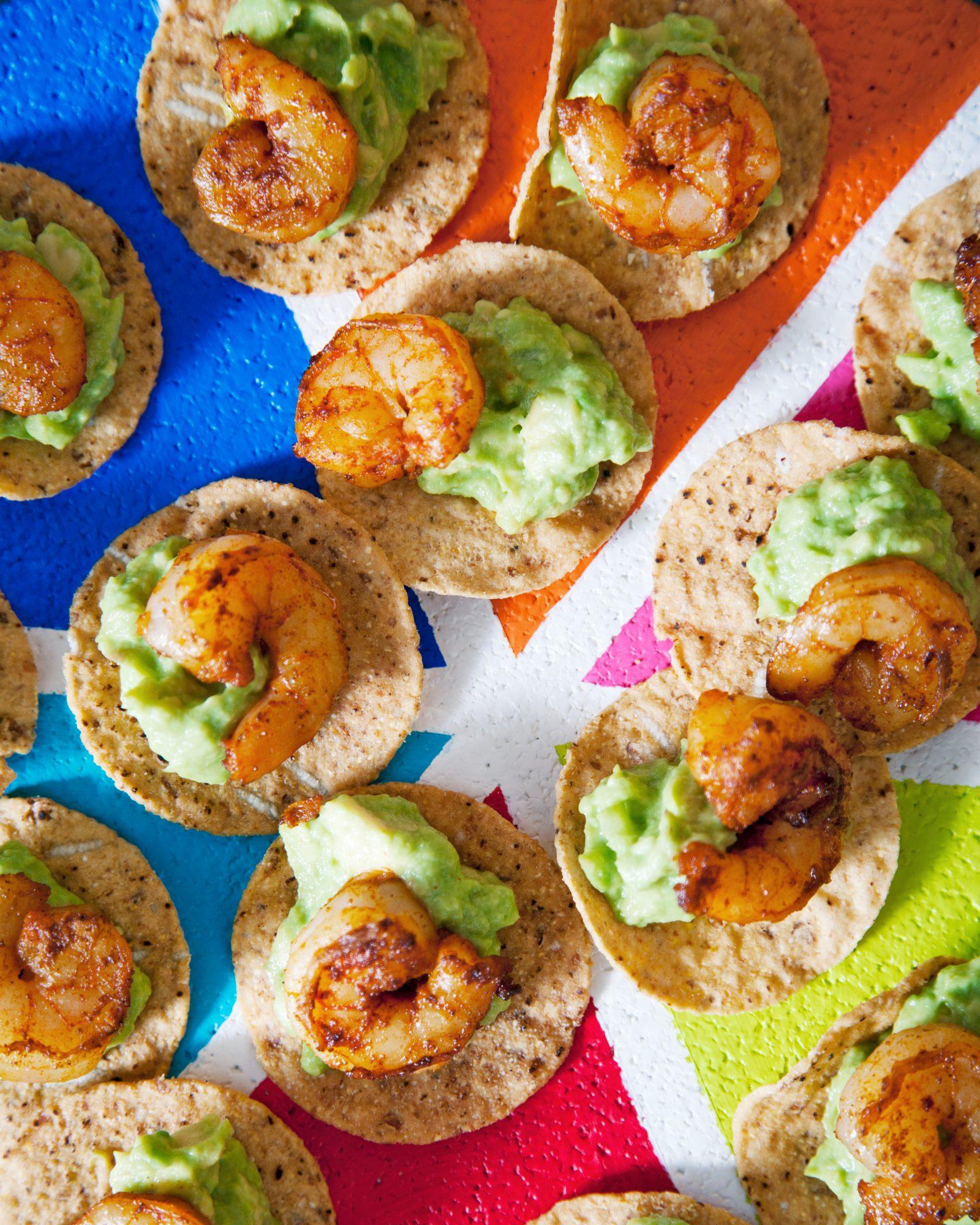 shrimp and guacamole lightning rounds