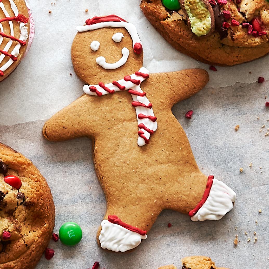 Chetna Makan's Cardamom & Clove Gingerbread People