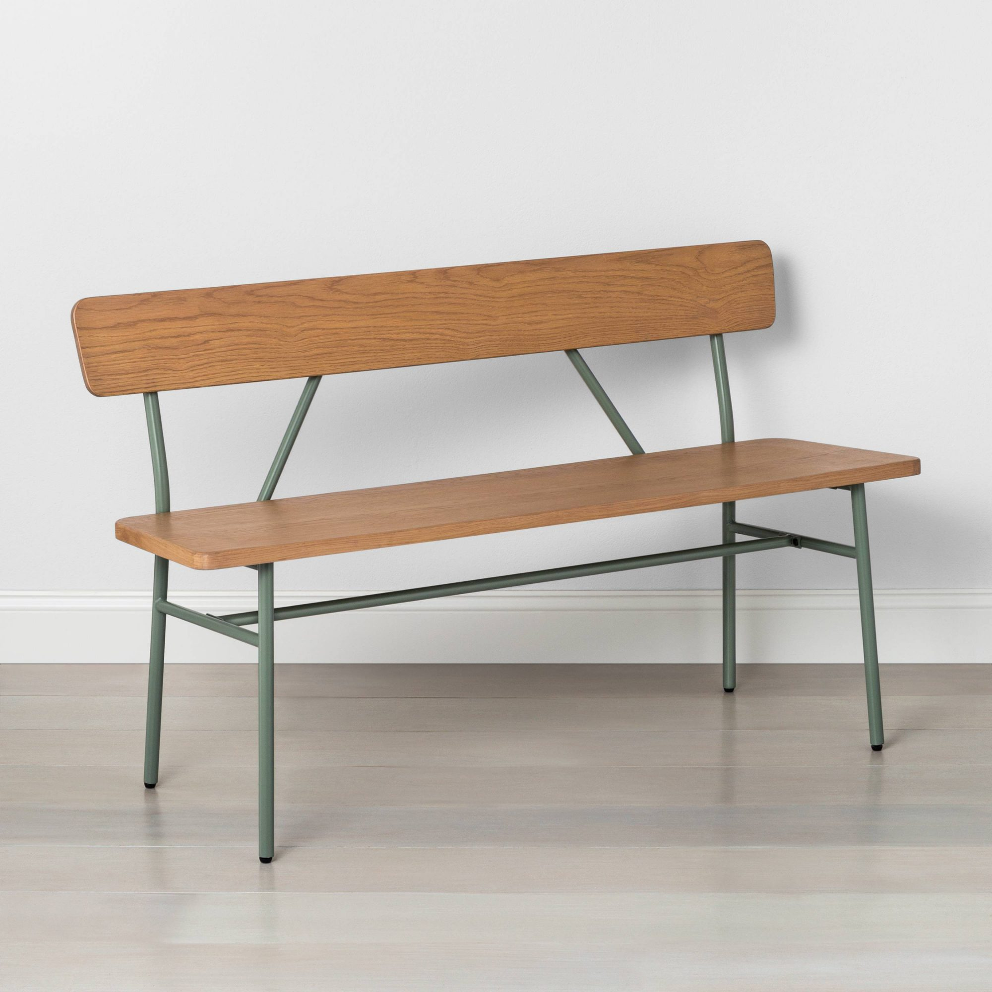 hearthhand-metal-wood-accent-bench-green.jpg