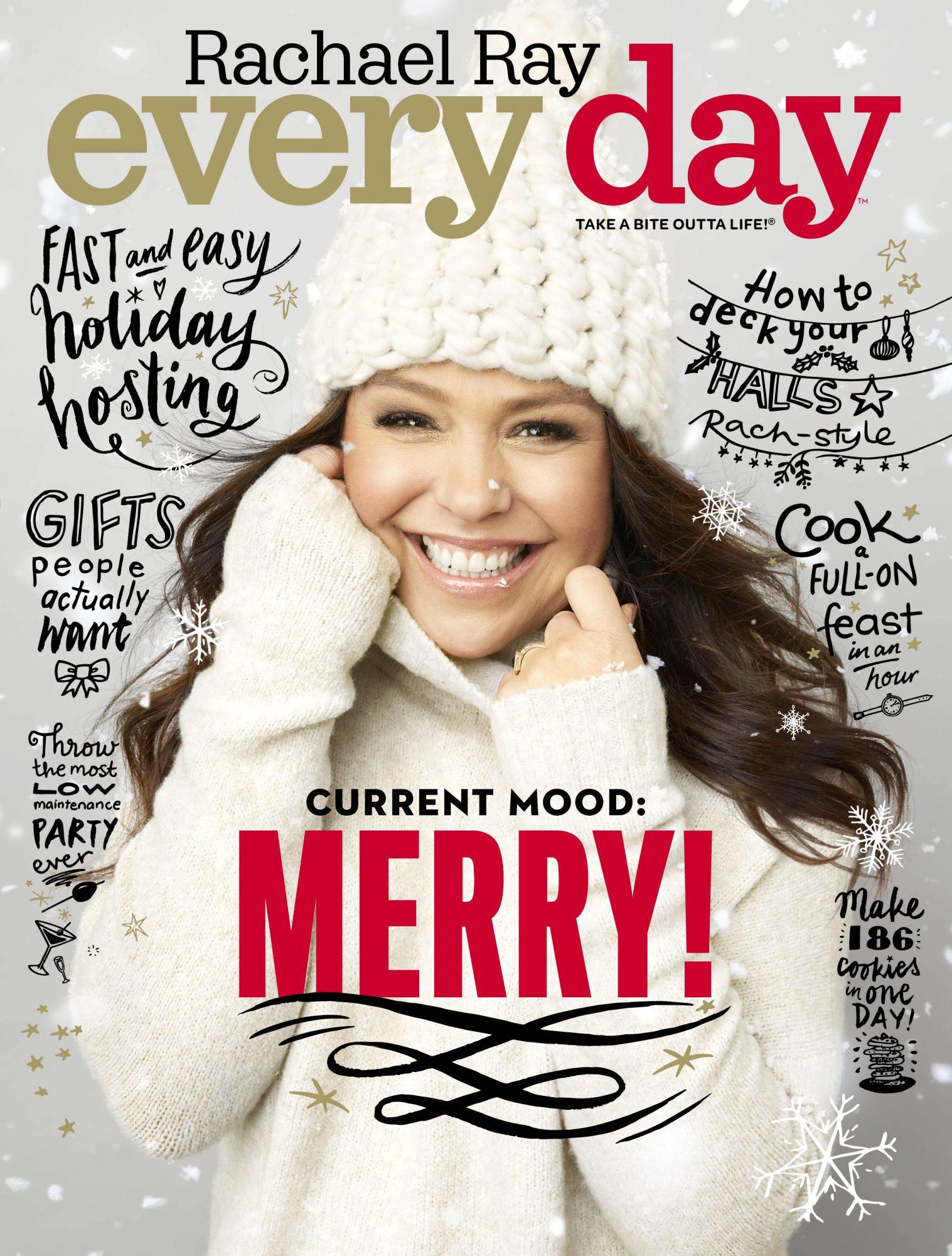 Rachael Ray December 2017 cover